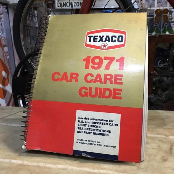Catalogo Guia Texaco De Lubrificação De 1971 Ñ Album 915