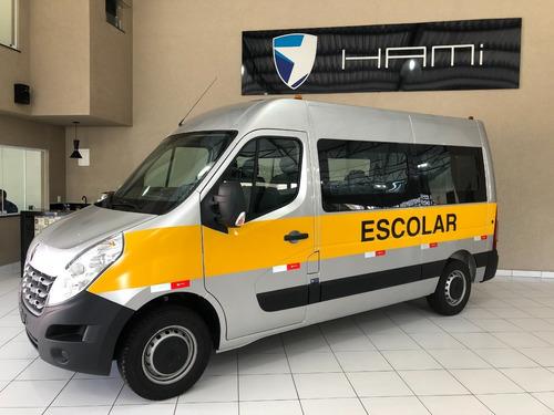 Imagem 1 de 15 de Renault Master L2h2 2022 Escolar 20 Lug