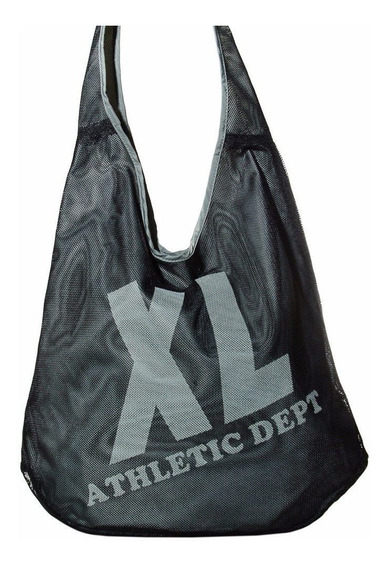 Xl Extra Large Sport Shopper Negro Carteras Para Mujer.