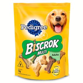 Biscoito Pedigree Biscrok Multi Para Cães Adultos - 1 Kg