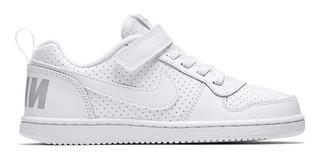 Tenis Nike Blancos Niños Del 16.5 Al 20 Cm