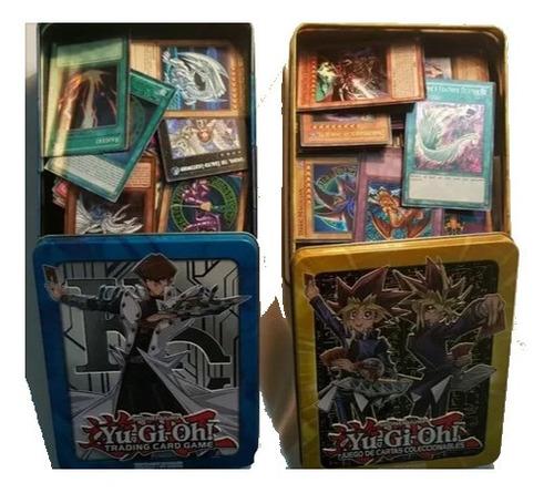 Yugioh Lata 100 Cartas (10 Foils)+obelisco Secret Gold+envío