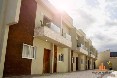 Sobrado Residencial À Venda, Campos Elíseos, Itanhaém - So0021. - So0021