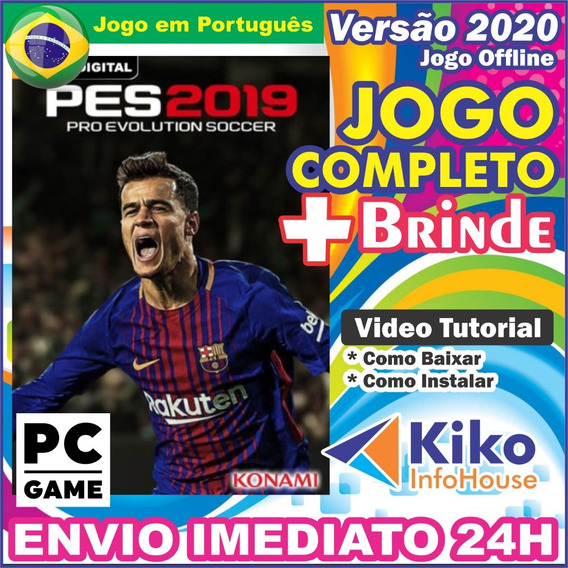 Pes 2019 Pro Evolution Soccer 2019 Pc Digital Br + Brinde