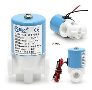 Válvula Solenoide 1/4 Nc 24 V Dc 0-120psi Alimento Aire Agua