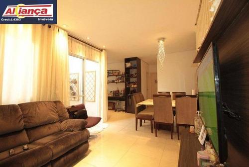 Apartamento Garden Com 3 Dormitórios À Venda, 65 M² - Vila Augusta - Guarulhos/sp - Ai20294