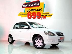 Chevrolet Celta Lt 8v 2015 Sem Entrada R$ 699,00 Mensais