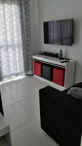 Apartamento Com 2 Dormitórios À Venda, 53 M² Por R$ 140.000 - Oceanópolis - Mongaguá/sp - Ap0095