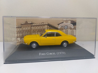 Ford Corcel 1970 Ed 29 Carros Inesquecíveis Do Brasil 1/43