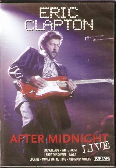 Dvd Eric Clapton After Midnight Frete Grátis Ao Vivo