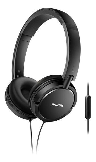 Fone De Ouvido Headphone Dinâmico Philips Preto Cabo P2