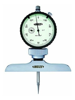 Insize 2341 - 2e2 Dial Medidor De Profundidad 0001 Dial Indi