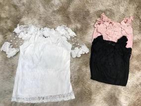 Blusa T-shirt Feminino Renta Manda Ciganinha Importar 820