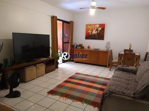 Apartamento Semi Mobiliado De 3 Quartos Sendo 1 Suite Área De Lazer Completa Na Praia Do Morro - Ap01023 - 69660878