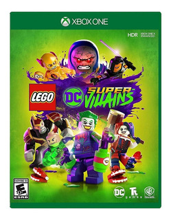 Lego Dc Super Villains Xbox One Nuevo Fisico Sellado