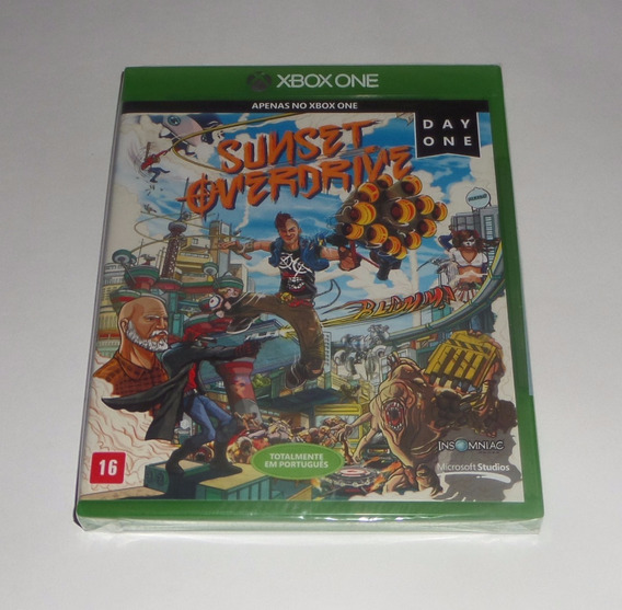 Sunset Overdrive Day One Original Lacrado Física Xbox One