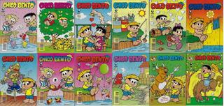 1991/2008 - 10 Hq Quadrinhos Chico Bento Globo Almanaque