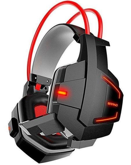 Headset Gamer Fone Ouvido Com Led P/ Jogos Pc Note H2 Barato