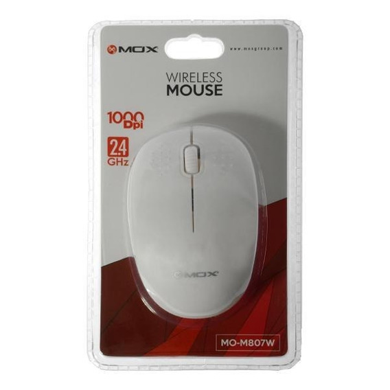 Mouse Óptico Sem Fio Mox