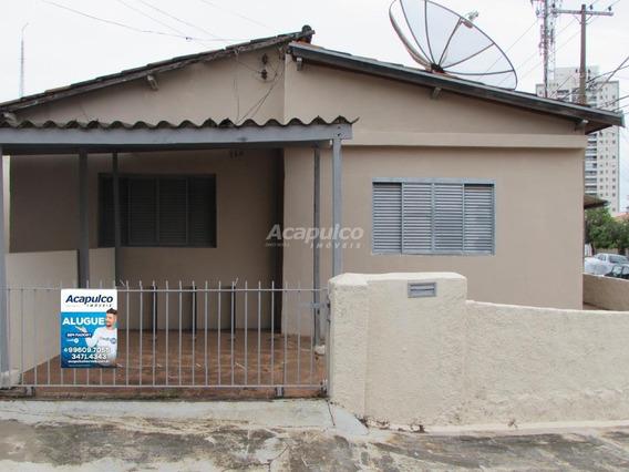Casa Para Aluguel, 1 Quarto, 1 Vaga, Jardim São Paulo - Americana/sp - 11007