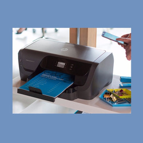 Impressora Hp Officejet Pro 8210 Wireless Bivolt Preto