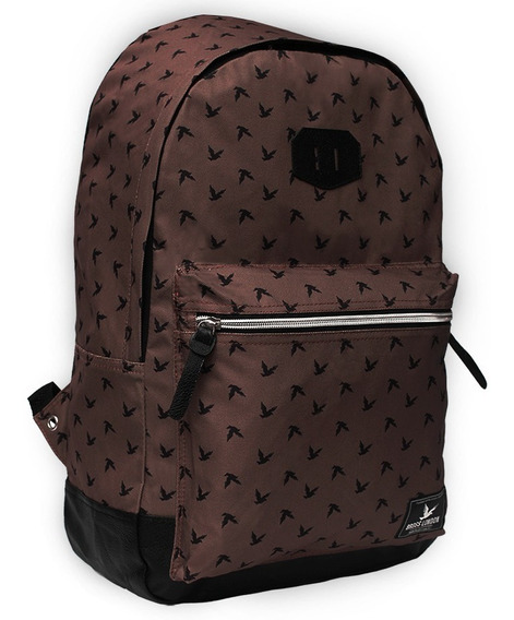 Mochila Estampada Unisex Bross London Brs21 *10