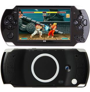 Consola Portatil Psp X6 8gb Camara Video Juegos 32 Bits Mp3