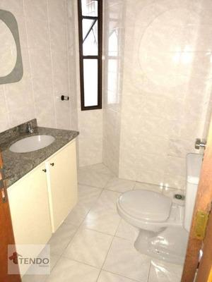 Apartamento Com 3 Dormitórios Para Alugar, 87 M² Por R$ 1.400/mês - Vila Marlene - São Bernardo Do Campo/sp - Ap0162