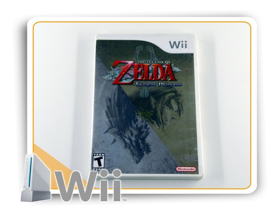The Legend Of Zelda Twilight Princess Nintendo Wii Original