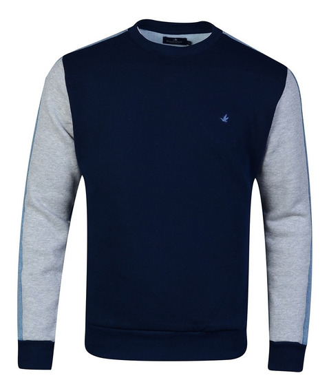 Buzos Sweaters Abrigos Algodón Premium Liso Sport Brooksfield
