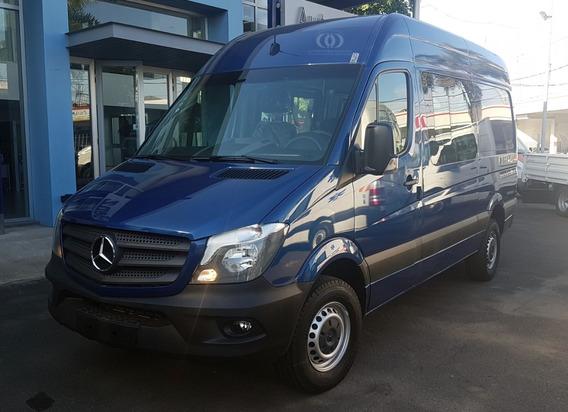Mercedes Benz Sprinter 415 Mixto 4+1 3665 Te Azul