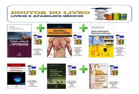 Kit Técnico Auxiliar Enfermagem 06 Livros Novos E Originais