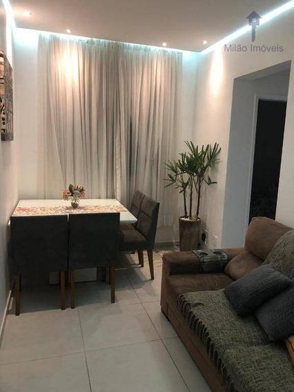 Apartamento 2 Dormitórios Para Locação, 47m², Condomínio Vida Plena, Pq. Campolim Em Sorocaba/sp - Ap1058