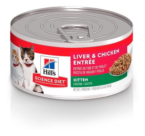 Imagen 1 de 8 de Alimento Para Gato Hill's Sd Kitten 15gr