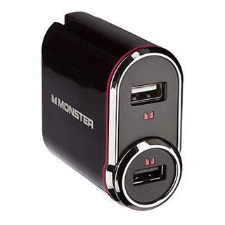 Monster Mobile Outlets To Go Usb Powerpack Black
