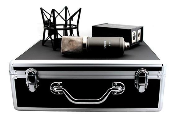 Microfone Condensador Kadosh K-83 Usado Em Ótimo Estado