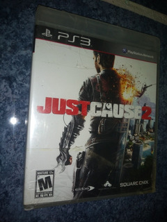 Playstation 3 Ps3 Video Juego Just Cause 2 Square Enix Nuevo