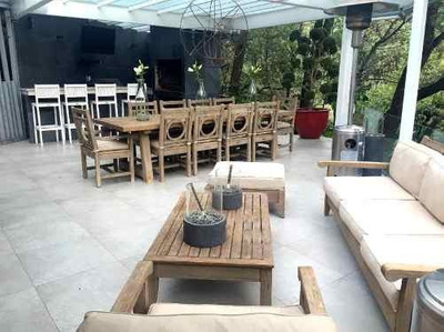 Casa En Venta En Residencial La Punta Con Alberca Y Jardín En Bosques De Las Lomas, Bosques De Las Lomas Cdmx