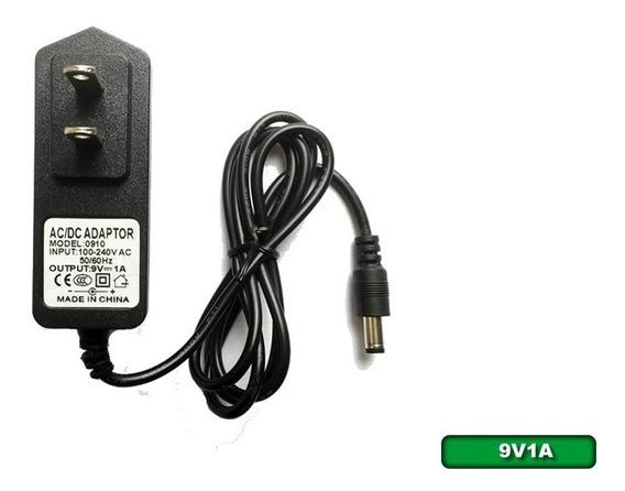 Transformador Para Modem/router/switch, Dc 9v-1a Plug 2.1mm