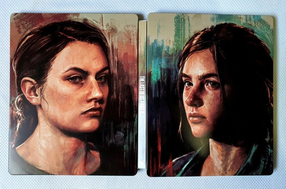 Steelbook The Last Of Us Part 2 - Sem O Jogo