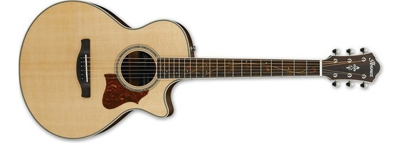 Guitarra Electroacustica Ibanez Ae 205 Jr Tapa Solida!!