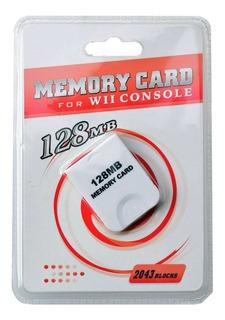 Memory Card 128mb Wii/gamecube Nuevo Sellado En Igamers
