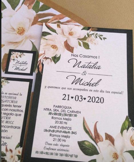 Invitaciones Tarjetas Casamiento 15 Años Quince Años