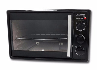 Forno Elétrico Safanelli Du Chef Plus 45l Preto 110v