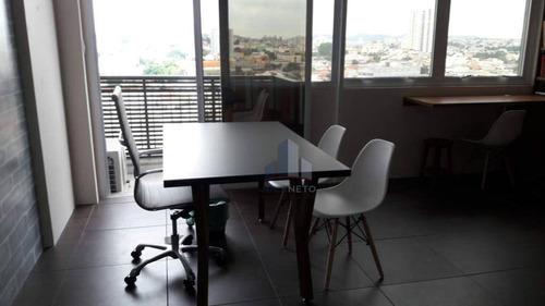 Sala, 33 M² - Venda Por R$ 280.000,00 Ou Aluguel Por R$ 1.800,00/mês - Vila Homero Thon - Santo André/sp - Sa0206