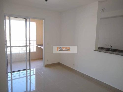 Imagem 1 de 13 de Apartamento Com 2 Dormitórios (1 Suíte), Sala 2 Ambs E 1 Vaga Para Alugar, 65 M² - Rudge Ramos - São Bernardo Do Campo/sp - Ap7223