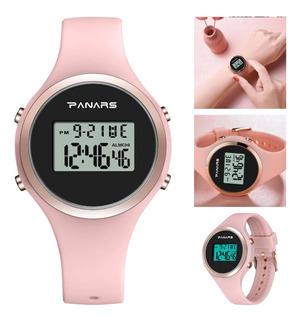Reloj Panars 8122 Mujer Dama Digital Cronometro Multifunc.