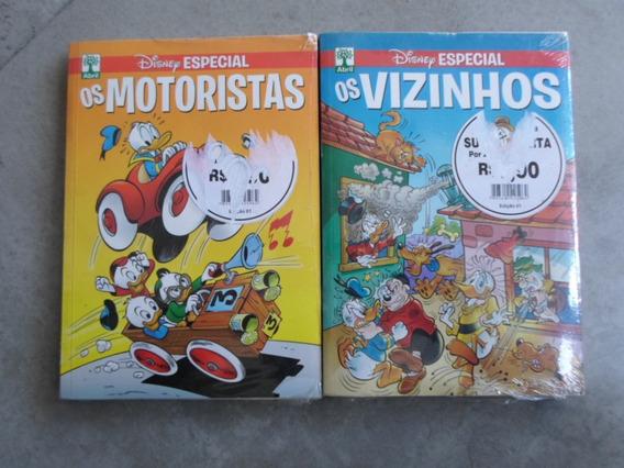 Gibis Almanaque Disney - Os Motoristas, Os Vizinhos - Novos!