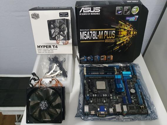 Kit Pc Gamer, Amd Fx-6300; 16gb Ram; Cooler Hyper T4; Placam