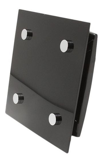 Extractor De Aire Para Muro 4 In Color Negro